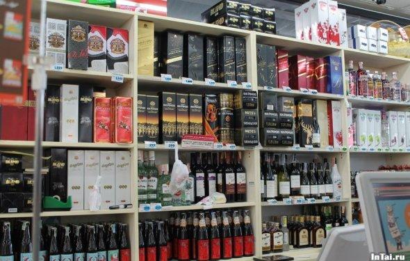 Алкоголь в Тайланде весьма