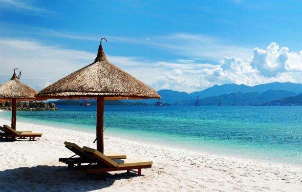 пляжный отдых на тихом океане