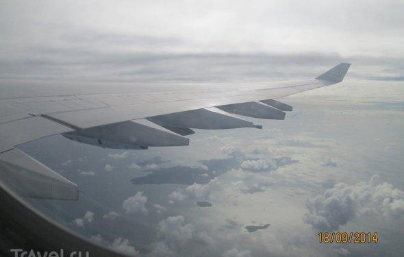 Сейшелы. Перелет остров Маэ